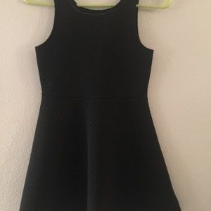Girls Kate Spade Black Dress
